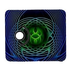 Swirling Dreams, Blue Green Samsung Galaxy S  III Flip 360 Case