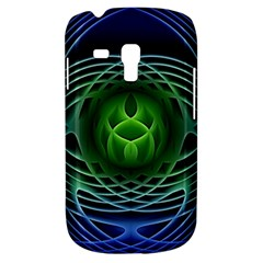 Swirling Dreams, Blue Green Samsung Galaxy S3 MINI I8190 Hardshell Case