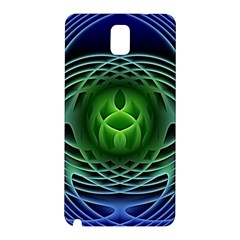 Swirling Dreams, Blue Green Samsung Galaxy Note 3 N9005 Hardshell Back Case