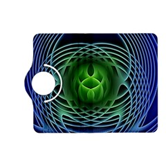 Swirling Dreams, Blue Green Kindle Fire Hd (2013) Flip 360 Case