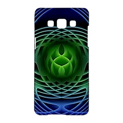 Swirling Dreams, Blue Green Samsung Galaxy A5 Hardshell Case