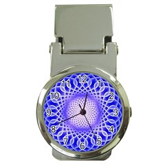 Swirling Dreams, Blue Money Clip Watches