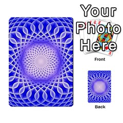 Swirling Dreams, Blue Multi-purpose Cards (Rectangle)