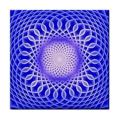 Swirling Dreams, Blue Face Towel