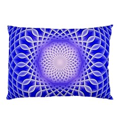 Swirling Dreams, Blue Pillow Cases