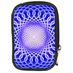 Swirling Dreams, Blue Compact Camera Cases
