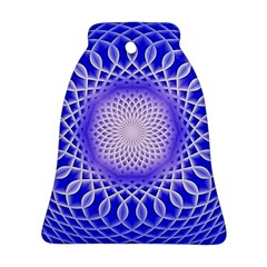Swirling Dreams, Blue Ornament (Bell)