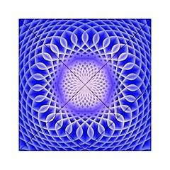 Swirling Dreams, Blue Acrylic Tangram Puzzle (6  X 6 )