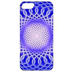 Swirling Dreams, Blue Apple iPhone 5 Classic Hardshell Case