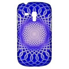 Swirling Dreams, Blue Samsung Galaxy S3 MINI I8190 Hardshell Case