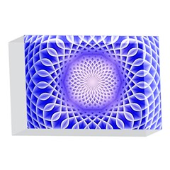Swirling Dreams, Blue 4 x 6  Acrylic Photo Blocks