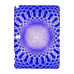 Swirling Dreams, Blue Samsung Galaxy Note 10.1 (P600) Hardshell Case