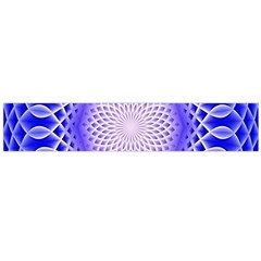 Swirling Dreams, Blue Flano Scarf (large)