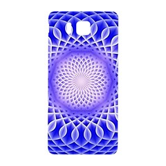 Swirling Dreams, Blue Samsung Galaxy Alpha Hardshell Back Case