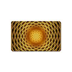 Swirling Dreams, Golden Magnet (Name Card)