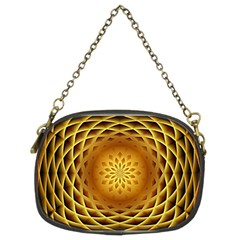 Swirling Dreams, Golden Chain Purses (Two Sides)