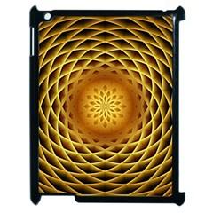 Swirling Dreams, Golden Apple iPad 2 Case (Black)