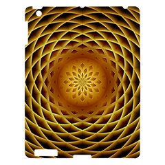 Swirling Dreams, Golden Apple iPad 3/4 Hardshell Case