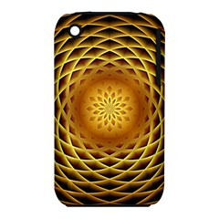 Swirling Dreams, Golden Apple iPhone 3G/3GS Hardshell Case (PC+Silicone)