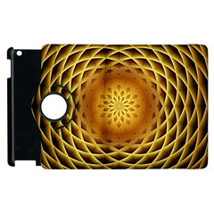 Swirling Dreams, Golden Apple iPad 2 Flip 360 Case