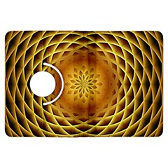 Swirling Dreams, Golden Kindle Fire Hdx Flip 360 Case
