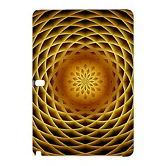 Swirling Dreams, Golden Samsung Galaxy Tab Pro 12.2 Hardshell Case
