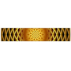 Swirling Dreams, Golden Flano Scarf (Large)