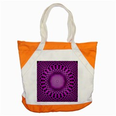 Swirling Dreams, Hot Pink Accent Tote Bag