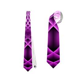 Swirling Dreams, Hot Pink Neckties (One Side)