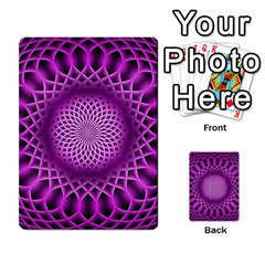 Swirling Dreams, Hot Pink Multi Purpose Cards (rectangle)