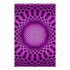 Swirling Dreams, Hot Pink Shower Curtain 48  x 72  (Small)
