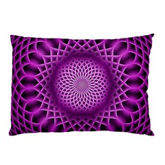 Swirling Dreams, Hot Pink Pillow Cases (two Sides)