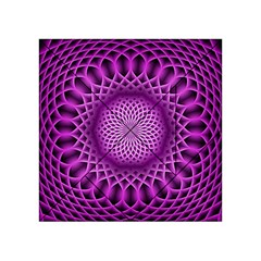 Swirling Dreams, Hot Pink Acrylic Tangram Puzzle (4  x 4 )