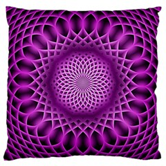 Swirling Dreams, Hot Pink Large Cushion Cases (Two Sides)