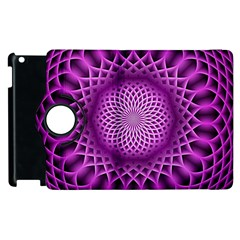 Swirling Dreams, Hot Pink Apple Ipad 2 Flip 360 Case