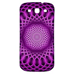 Swirling Dreams, Hot Pink Samsung Galaxy S3 S III Classic Hardshell Back Case