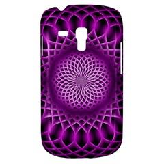 Swirling Dreams, Hot Pink Samsung Galaxy S3 MINI I8190 Hardshell Case