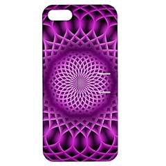 Swirling Dreams, Hot Pink Apple iPhone 5 Hardshell Case with Stand