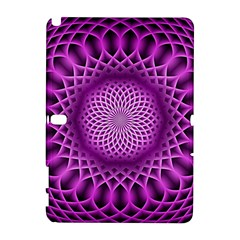 Swirling Dreams, Hot Pink Samsung Galaxy Note 10.1 (P600) Hardshell Case