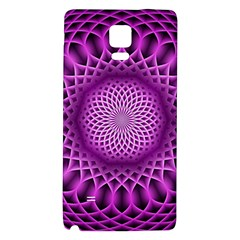 Swirling Dreams, Hot Pink Galaxy Note 4 Back Case