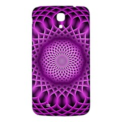 Swirling Dreams, Hot Pink Samsung Galaxy Mega I9200 Hardshell Back Case