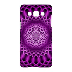 Swirling Dreams, Hot Pink Samsung Galaxy A5 Hardshell Case