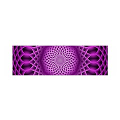 Swirling Dreams, Hot Pink Satin Scarf (oblong)