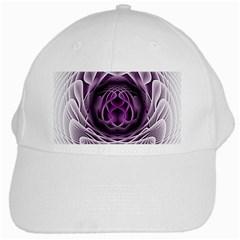 Swirling Dreams, Purple White Cap