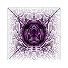 Swirling Dreams, Purple Acrylic Tangram Puzzle (6  X 6 )