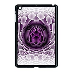 Swirling Dreams, Purple Apple iPad Mini Case (Black)