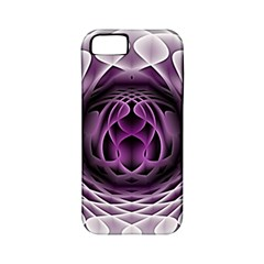 Swirling Dreams, Purple Apple iPhone 5 Classic Hardshell Case (PC+Silicone)