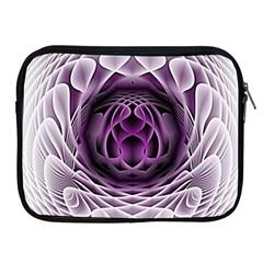 Swirling Dreams, Purple Apple iPad 2/3/4 Zipper Cases