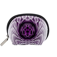Swirling Dreams, Purple Accessory Pouches (Small)