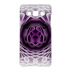 Swirling Dreams, Purple Samsung Galaxy A5 Hardshell Case